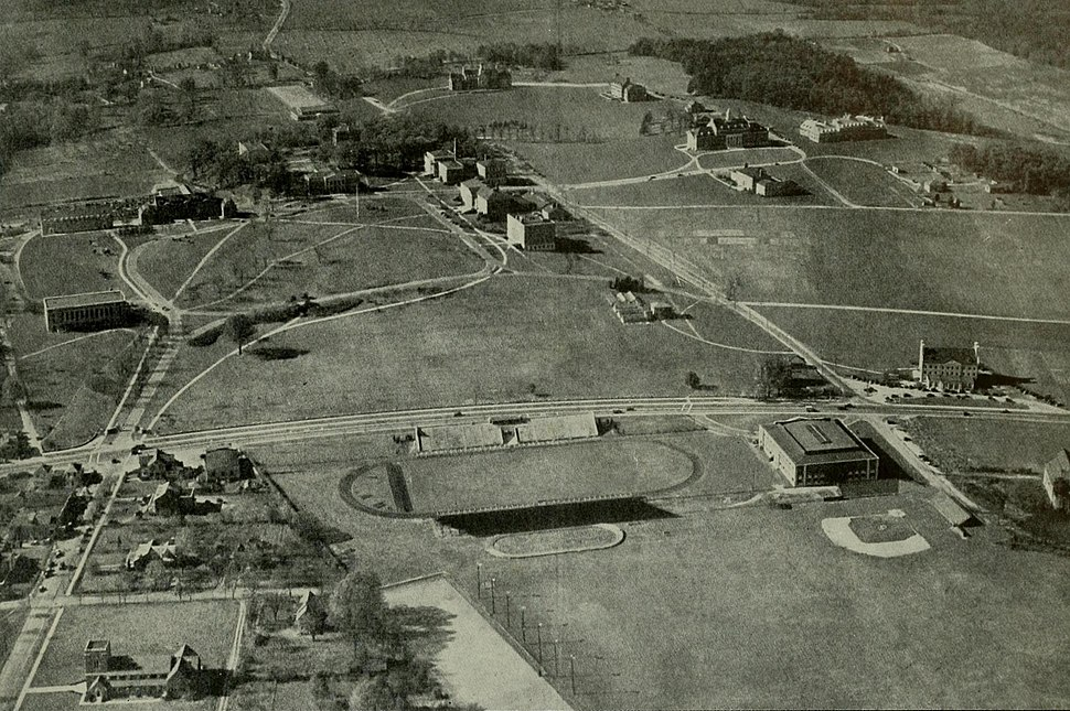 Univ of Maryland campus 1938