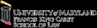 University of Maryland School of Law - Image: University of Maryland School of Law logo