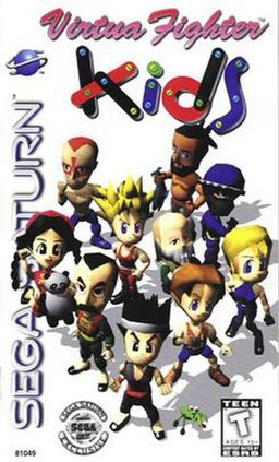 cover art for Virtua Fighter Kids