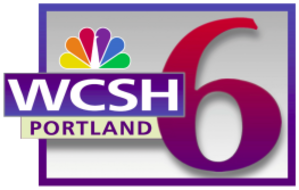 WCSH - Previous Logo Used Until 2013.