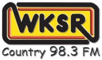WLXA - Image: WKSR FM logo