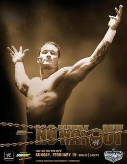 No Way Out (2006) 2006 World Wrestling Entertainment pay-per-view event