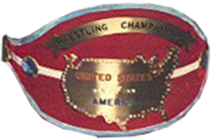 WWWF United States Heavyweight Championship - One version of the belt that represented the championship in the 1960s and 1970s