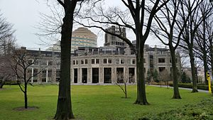 William D. Walsh Family Library - Image: Walsh Library Fordham