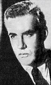 Photograph of Walter Baxter which appeared in a 1951 publication