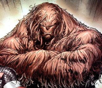 Sasquatch (comics) - Image: Walter Langkowski