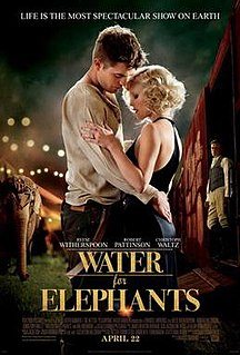 <i>Water for Elephants</i> (film) 2011 film by Francis Lawrence