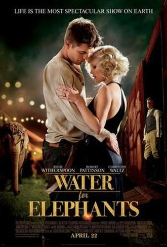Water for Elephants (film) - Theatrical release poster