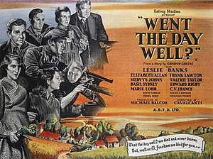 Went the Day Well? - Theatrical film poster