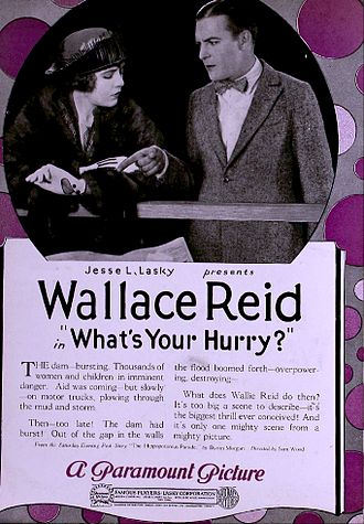 What's Your Hurry? - Ad for film