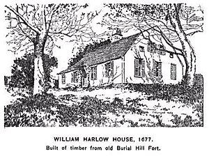 Burial Hill - Image: William Harlow House in Plymouth MA