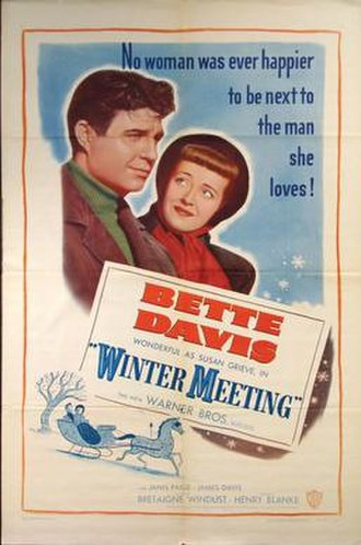 Winter Meeting - Theatrical release poster