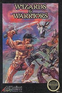 <i>Wizards & Warriors</i> 1987 NES game