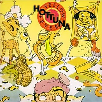 Yellow Fever (album) - Image: Yellow Fever Hot Tuna