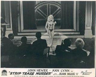 <i>Strip Tease Murder</i> 1961 film by Ernest Morris