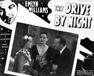 They Drive by Night (1938 film) - British lobby card
