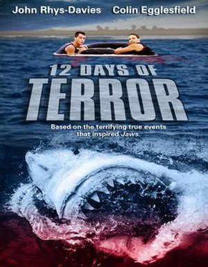 12 Days of Terror - DVD release poster