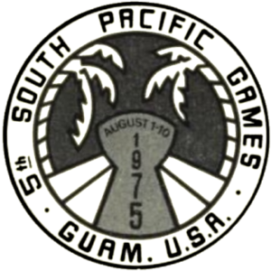 1975 South Pacific Games - Image: 1975 South Pacific Games logo