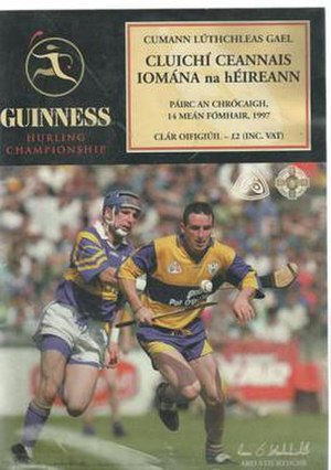 1997 All-Ireland Senior Hurling Championship Final - Image: 1997 All Ireland Hurling Final match day programme