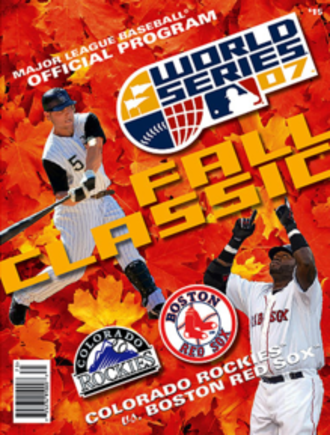 2007 World Series - Image: 2007 World Series Program