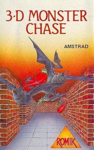 3D Monster Chase - Image: 3Dmonster