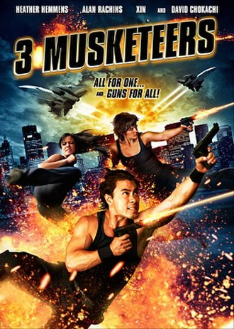 3 Musketeers (film) - DVD Cover