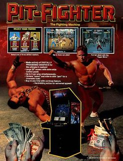 <i>Pit-Fighter</i> 1990 video game by Atari Games