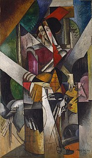 <i>Woman with Animals</i> painting by Albert Gleizes
