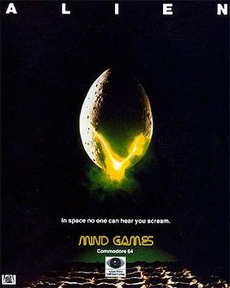 Alien (1984 video game) - Image: Alien 1984 C64