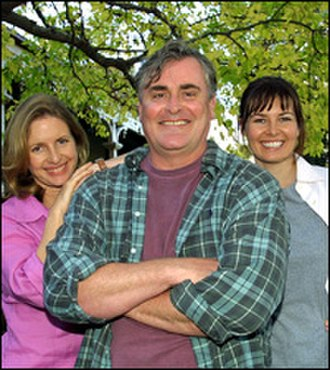 Always Greener - Anne Tenney (Liz Taylor), John Howard (John Taylor), Caitlin McDougall (Sandra Todd)