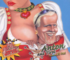 Anton aus Tirol - Image: Anton aus Tirol single cover