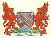 Arms granted in 1932