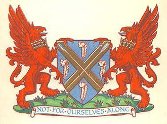 Municipal Borough of Barnes - Arms granted in 1932