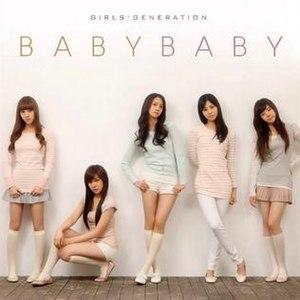 Girls' Generation (2007 album) - Image: Baby Baby SNSD album