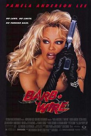 Barb Wire (film) - Theatrical release poster