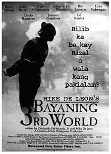 bayaning 3rd world synopsis Bayaning third world movie download  movie info: cast, reviews, trailer on mubicom bayaning third world on mubicom bayaning 3rd world synopsis.