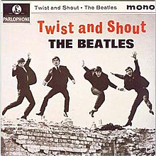 "Cover of the ""Twist and Shout (EP)"" (July 1963)"