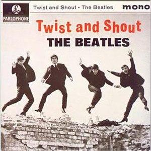 Twist and Shout (EP) - Image: Beatles Twistan Shout Single