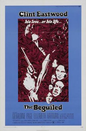 The Beguiled (1971 film) - Film poster by Bob Peak