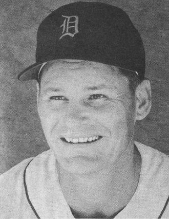 Billy Hitchcock - Hitchcock as a Detroit Tigers coach in 1957