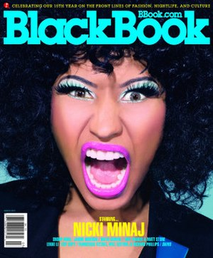 BlackBook - March 2011 cover