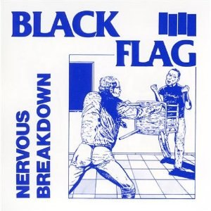 Nervous Breakdown (EP) - Image: Black Flag Nervous Breakdown cover