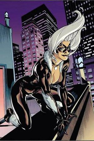 Black Cat (comics) - Image: Blk Catfh
