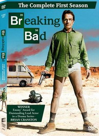 Breaking Bad (season 1) - Image: Breaking Bad S1DVD