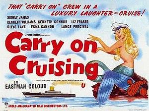 Carry On Cruising - Original UK quad poster