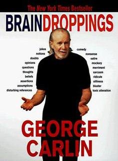 <i>Brain Droppings</i> book by George Carlin