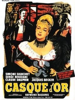 Casque d'Or - French theatrical release poster