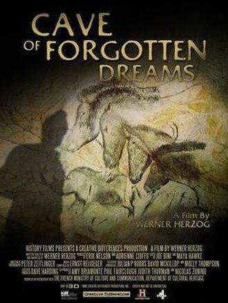 Cave of Forgotten Dreams - Image: Cave of forgotten dreams poster