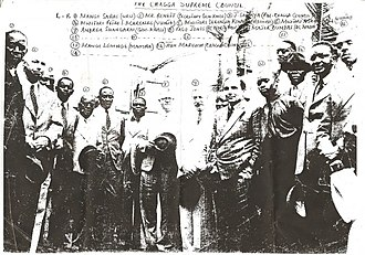 Chaga people -  Chaga suprime council during Colonial Era