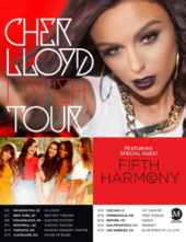 Cher Lloyd - I Wish Tour (Official Poster).png
